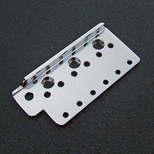 NEW CHROME 001-9470-000 Genuine Fender Bridge Plate For USA Vintage Strat