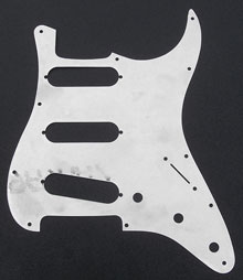 001-9699-049 - Fender '62 Strat Full Coverage Aluminum Pickguard Shield