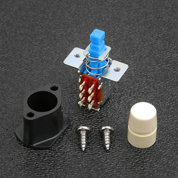 002-0803-000-KIT - Fender® Deluxe Player, Jeff Beck and Elite Strat® DPDT Push-Push Button Switch Kit