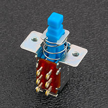 002-0803-000 - Fender® Deluxe Player, Jeff Beck and Elite Strat® DPDT Push-Push Button Switch