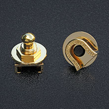 002-2043-049 - Fender / Schaller Gold Strap Locks