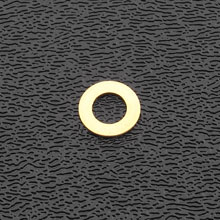 002-2335-049 - Genuine Fender Truss Rod Nut Flat Brass Washer0""