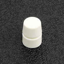 002-2602-000 - Fender Deluxe Player, Jeff Beck and Elite Strat DPDT Push-Push Switch Knob/Tip, Parchment