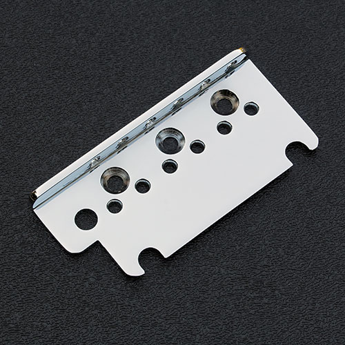 003-65277-000 Genuine Fender American Deluxe / Ultra Strat Chrome Bridge Top Plate