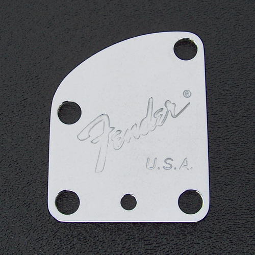 003-7286-000 Fender Stratocaster Toronado/Beck Chrome Neck Plate