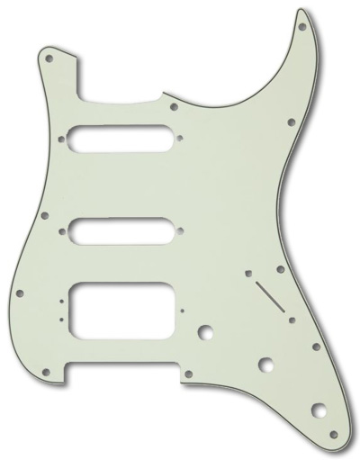 005-4021-000 - Genuine Fender HSS Stratocaster Mint Green 3 Ply Pickguard