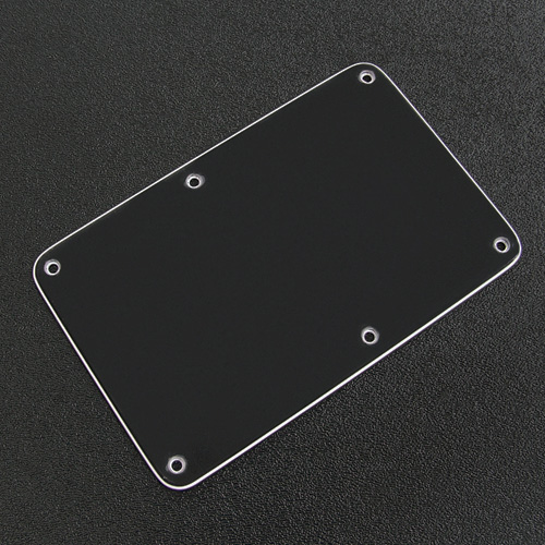 005-4115-002 0054115002 - Fender Stratocaster Black 3 Ply Back Plate