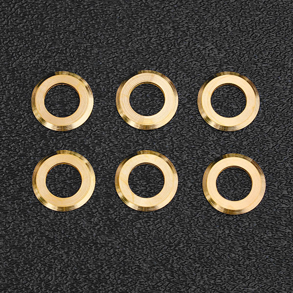 005-8816-049 0058816049 - Fender American Standard, Deluxe, Elite, Pro Strat Gold Tuner Washers