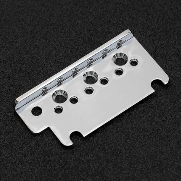 007-5089-000 0075089000 Fender American Standard Strat Chrome Bridge Top Plate (2008 and Newer)