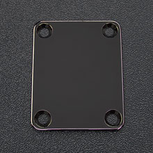 008-0191-000 Fender Black Nickel 4-Bolt Neck Plate