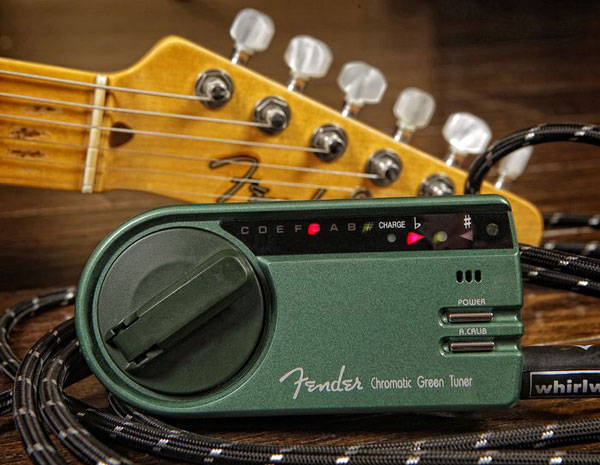 023-9979-001 0239979001 Fender Green Chromatic Tuner (GT-1000)