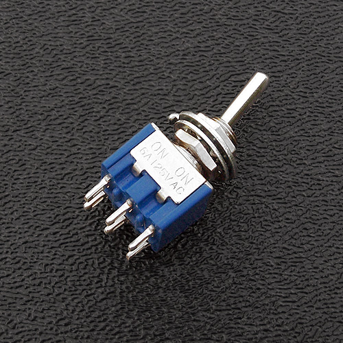 060-516- DPDT on-on Mini Toggle Switch