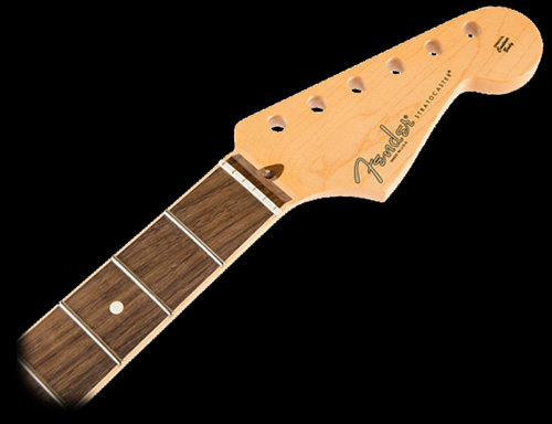 099-0214-921 - Fender Stratocaster Channel Bound Rosewood Neck