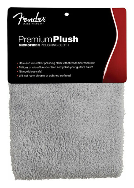 099-0525-000 0990525000 - Fender Premium Plush MicrofiberPolishing Cloth