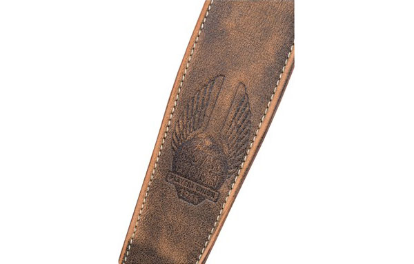 099-0660-050 Fender Road Worn Brown Leather Strap