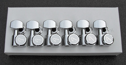 099-0818-100 0990818100 - Fender Chrome Locking F Tuners