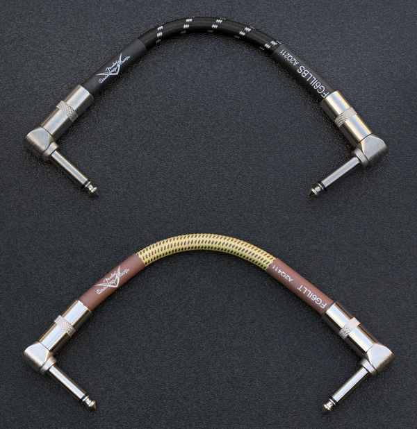 "099-0820-033, 099-0820-040 Genuine Fender Custom Shop Performance Series 6"" Tweed Patch Cables"