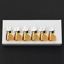 099-0846-200 Genuine Fender American Series Gold Tuning Keys, Pearl Buttons