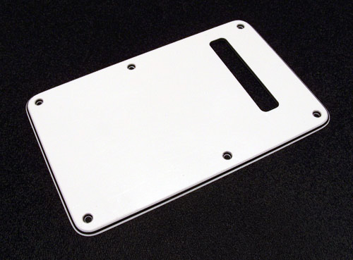 099-1321-000 White 3 Ply Strat Back Plate