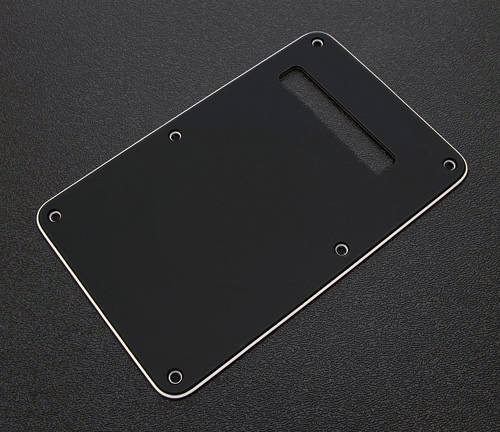 099-1322-000 0991322000 - Fender Stratocaster Black 3 Ply Back Plate