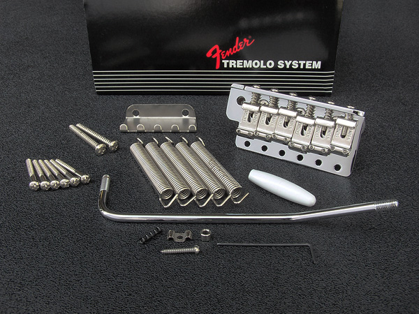 099-2049-000 - Genuine Fender® American Vintage Stratocaster® Chrome Tremolo Bridge Assembly