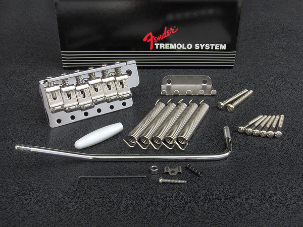 099-2049-002 0992049002 Fender American Vintage Left Hand Stratocaster Chrome Tremolo Bridge Assembly