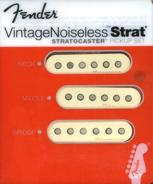 099-2115-000 Fender Vintage Noiseless Strat Pickup Set