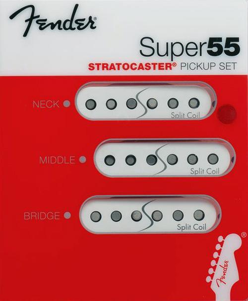 099 2211 001 fender super 55 split coil noiseless stratocaster  099 2211 001 0992211001 fender super 55 noiseless stratocaster pickup set
