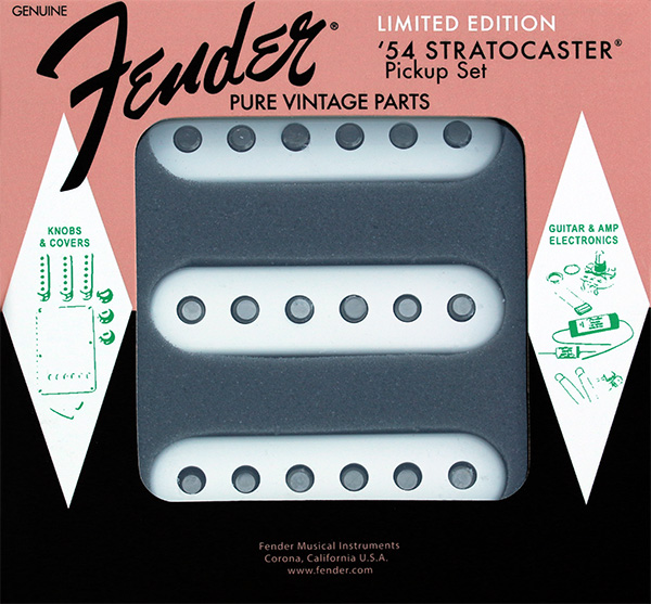 099-2244-000, 0992244000 - Fender 60'th Anniversary Limited Edition 1954 Stratocaster Pickup Set