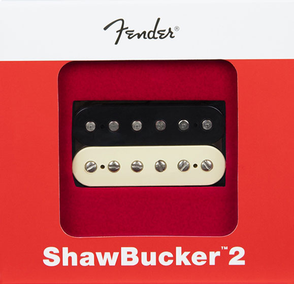 099-2249-002 0992249002 - Fender ShawBucker 2 Humbucking Pickup, Zebra
