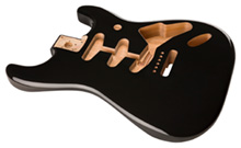 099-8003-706 - Fender Classic Series 60's Stratocaster Body, Black