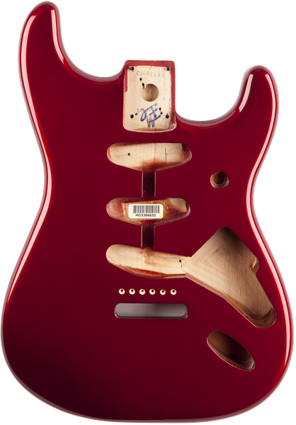 099-8003-709 0998003709 - Fender Classic Series 60's Stratocaster Replacement Alder Body, Candy Apple Red (MIM)