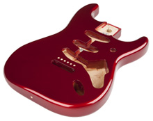 099-8003-709 - Fender Classic Series 60's Stratocaster Body, Candy Apple Red