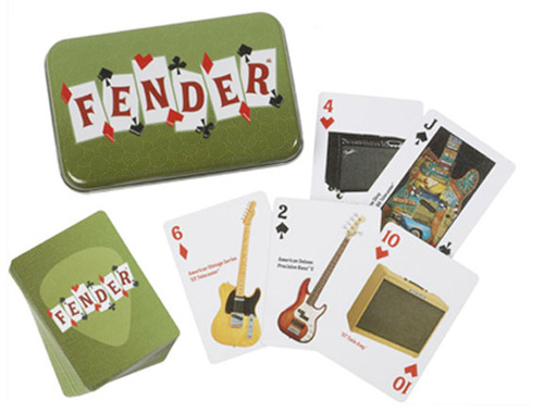 099-9526-000 0999526000 - Fender Dual-Deck Playing Card Tin Set