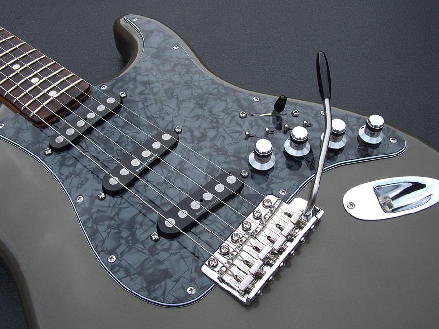 Black Pearl Pickguard