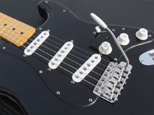 custom gilmour style black strat project Fender Strat Pickguard Wiring-Diagram the black strat project 1