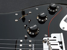 Custom Doube Recessed Mini-Toggle Switch Pickguard Kit For Super Switch Projects