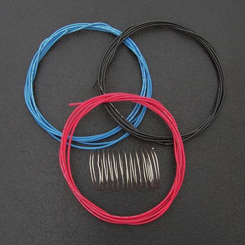 22 gauge hookup wire and solder for guitar wiring 15 39 of wire 5 39 of solder. Black Bedroom Furniture Sets. Home Design Ideas