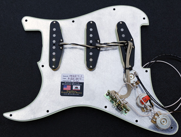 Fender American Vintage Stratocaster Original 57//62 Guitar Pickup Set in White
