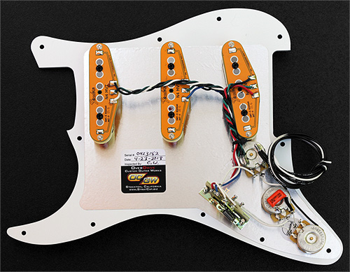 [SODI_2457]   Loaded Strat Pickguard Fender N4 Noiseless Strat Pickup Set | Fender Noiseless Pickups For Stratocaster Wiring Diagram |  | OverDrive Custom Guitar Works