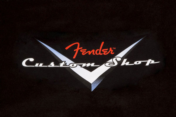 910-1359-606 Fender Custom Shop Original Logo T-Shirt