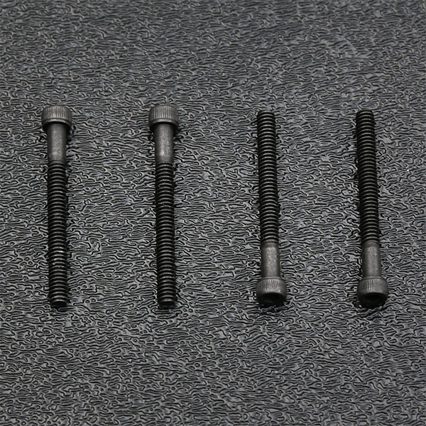 Black Alloy Steel Socket Head Humbucking Pickup Mounting Screw Set