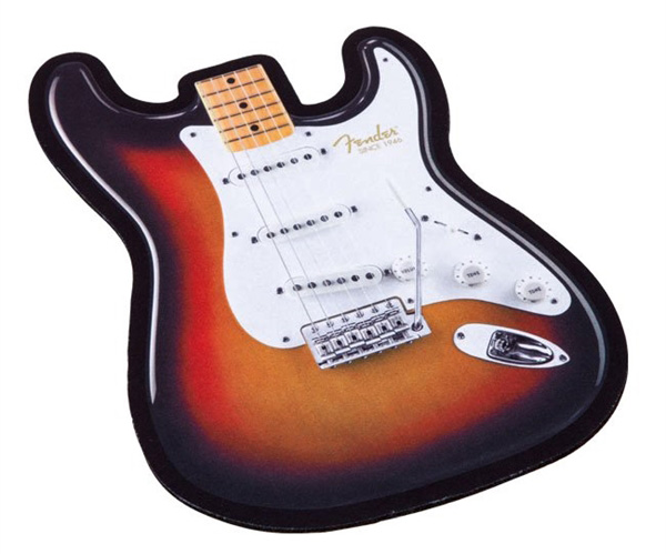 919-0560-116 Fender Strat Body Mouse Pad