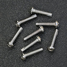 Chrome Plated Pickup Mounting Screws