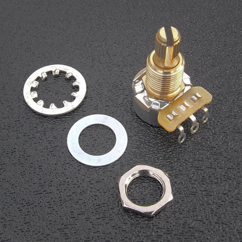 CTS 250k Mini (17mm) Split Shaft Volume and Tone Potentiometer