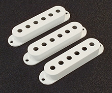 Eggshell Strat Pickup Cover Set