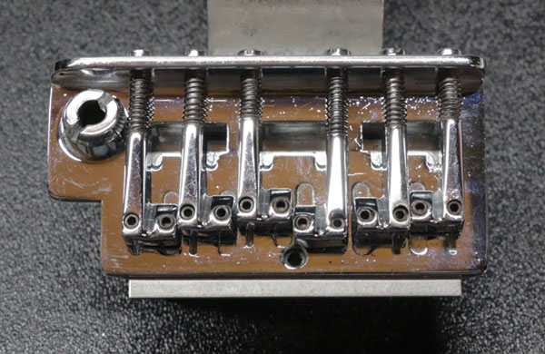 Freeflyte tremolo bridge, top