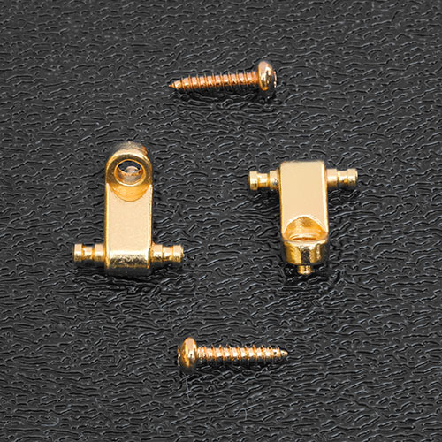 KAS11G - Kluson Direct Replacement String Guides For Fender American Series Strat - Gold