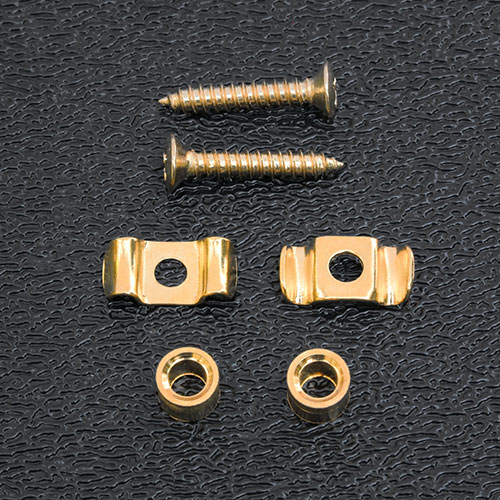 KST11G - Kluson Gold String Guides For Fender Vintage Strat