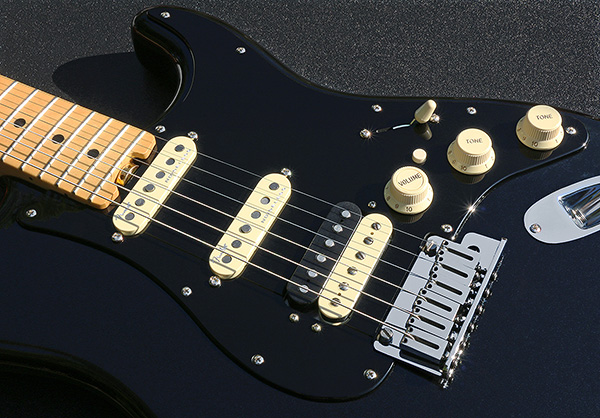 Customized Fender American Elite HSS Strat Pickguard